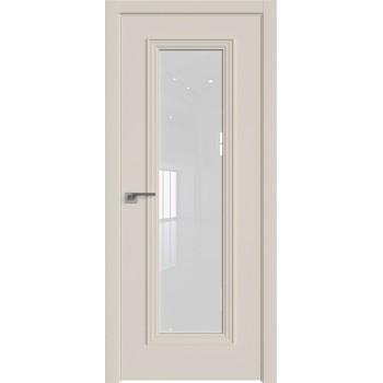 Дверь профиль дорс 51Е Магнолия сатинат - со стеклом (Товар № ZF209606)