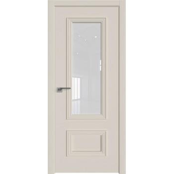 Дверь Профиль дорс 59Е Магнолия сатинат - со стеклом (Товар № ZF209623)