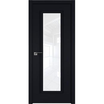 Дверь профиль дорс 51Е Черный матовый - со стеклом (Товар № ZF209583)