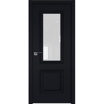 Дверь Профиль дорс 53Е Черный матовый - со стеклом (Товар № ZF209587)