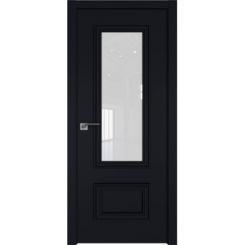Дверь Профиль дорс 59Е Черный матовый - со стеклом (Товар № ZF209592)