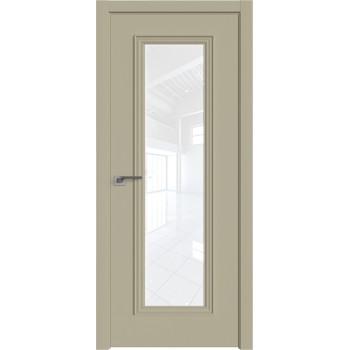 Дверь профиль дорс 51Е Шеллгрей - со стеклом (Товар № ZF209719)
