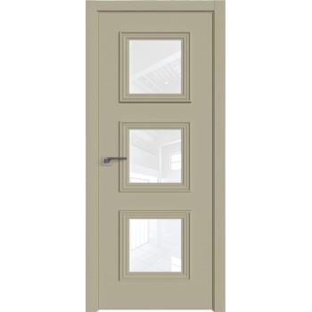 Дверь Профиль дорс 55Е Шеллгрей - со стеклом (Товар № ZF209723)