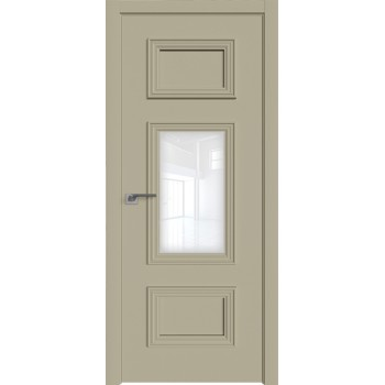 Дверь Профиль дорс 57Е Шеллгрей - со стеклом (Товар № ZF209728)