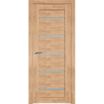 Дверь Профиль дорс 7XN Каштан натуральный - со стеклом (Товар № ZF212286)