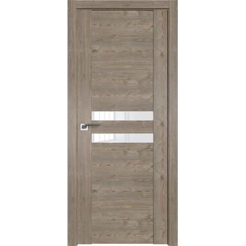 Дверь Профиль дорс 2.03XN Каштан темный - со стеклом (Товар № ZF209668)