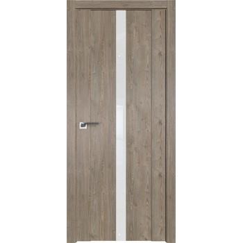 Дверь Профиль дорс 2.04XN Каштан темный - со стеклом (Товар № ZF209903)