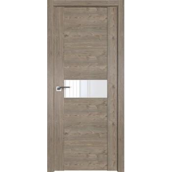 Дверь Профиль дорс 2.05XN Каштан темный - со стеклом (Товар № ZF209904)