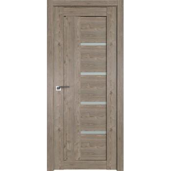Дверь Профиль дорс 2.08XN Каштан темный - со стеклом (Товар № ZF209907)