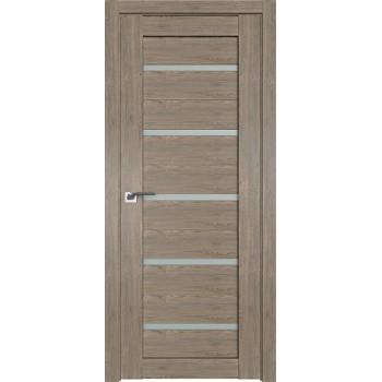 Дверь Профиль дорс 7XN Каштан темный - со стеклом (Товар № ZF212236)