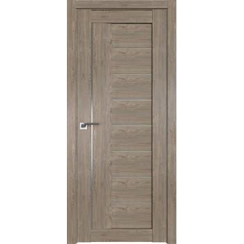 Дверь Профиль дорс 17XN Каштан темный - со стеклом (Товар № ZF212238)