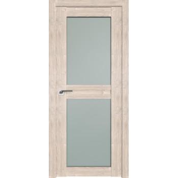 Дверь Профиль дорс 2.44XN Каштан светлый - со стеклом (Товар № ZF212302)