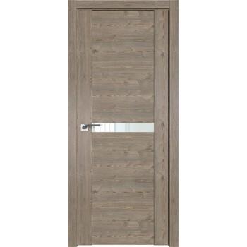 Дверь Профиль дорс 2.01XN Каштан темный - со стеклом (Товар № ZF209653)