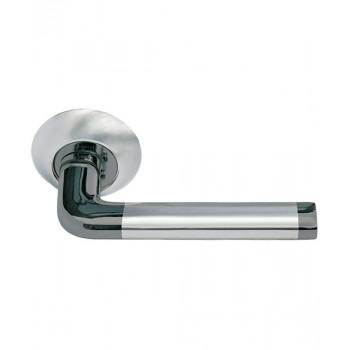 Дверная ручка Morelli DIY MH-03 SN/BN Никель белый (Товар № ZF212848)