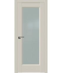Дверь Профиль дорс 92U Магнолия сатинат - со стеклом (Товар № ZF211502)