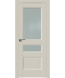 Дверь Профиль дорс 94U Магнолия сатинат - со стеклом (Товар № ZF211508)