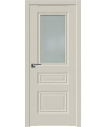 Дверь Профиль дорс 2.39U Магнолия сатинат - со стеклом (Товар № ZF211572)