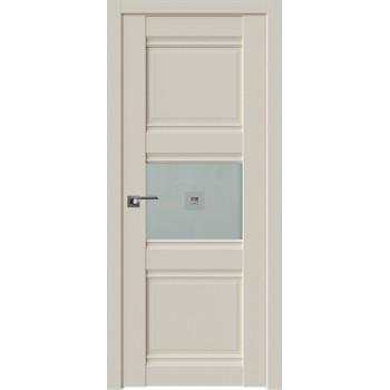 Дверь Профиль Дорс 5U Магнолия сатинат - со стеклом (Товар № ZF209137)