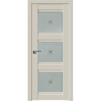 Дверь Профиль Дорс 4U Магнолия сатинат - со стеклом (Товар № ZF209174)