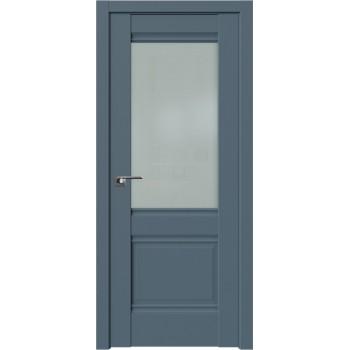 Дверь Профиль Дорс 2U Антрацит - со стеклом (Товар № ZF209139)