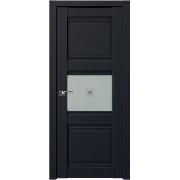 Дверь Профиль Дорс 5U Черный матовый - со стеклом (Товар № ZF209266)