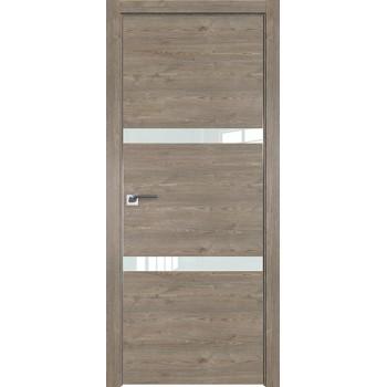 Дверь Профиль дорс 30ZN Каштан темный - со стеклом (Товар № ZF210427)