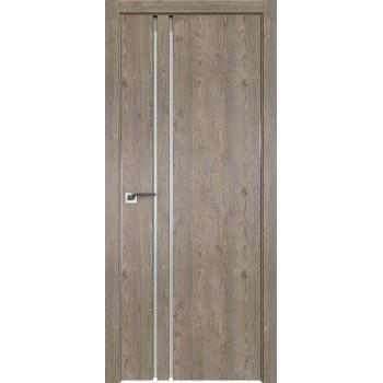 Дверь Профиль дорс 35ZN Каштан темный - со стеклом (Товар № ZF210430)