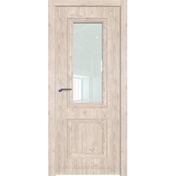 Дверь Профиль дорс 53ZN Каштан светлый - со стеклом (Товар № ZF210479)