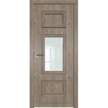 Дверь Профиль дорс 57ZN Каштан темный - со стеклом (Товар № ZF210431)