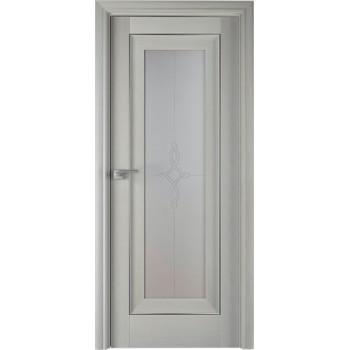 Дверь Профиль дорс 24Х Эш вайт - со стеклом (Товар № ZF208968)