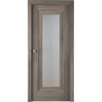 Дверь Профиль дорс 24Х Орех пекан - со стеклом (Товар № ZF208970)