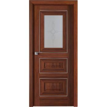 Дверь Профиль дорс 26Х Орех амари - со стеклом (Товар № ZF208992)