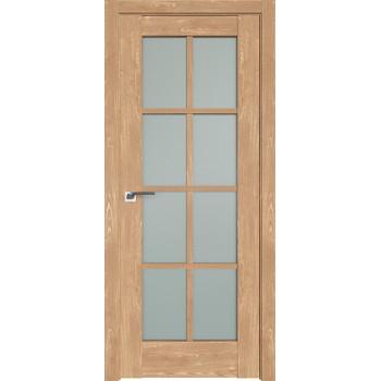 Дверь Профиль дорс 101XN Каштан натуральный - со стеклом (Товар № ZF212291)