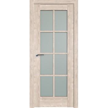 Дверь Профиль дорс 101XN Каштан светлый - со стеклом (Товар № ZF212313)