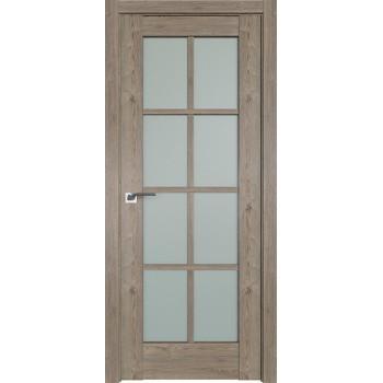 Дверь Профиль дорс 101XN Каштан темный - со стеклом (Товар № ZF212243)