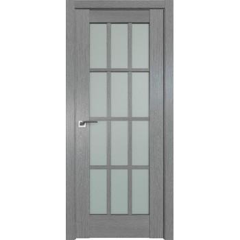 Дверь Профиль дорс 102XN Грувд серый - со стеклом (Товар № ZF212081)