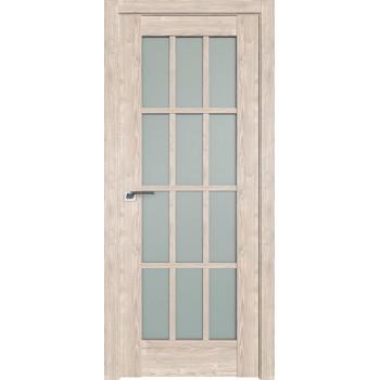 Дверь Профиль дорс 102XN Каштан светлый - со стеклом (Товар № ZF212344)