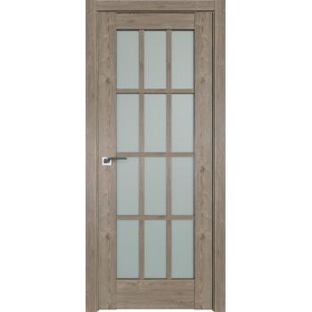 Дверь Профиль дорс 102XN Каштан темный - со стеклом (Товар № ZF212240)