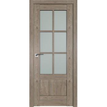 Дверь Профиль дорс 103XN Каштан темный - со стеклом (Товар № ZF212241)