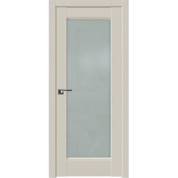 Дверь Профиль дорс 107U Магнолия сатинат - со стеклом (Товар № ZF211577)