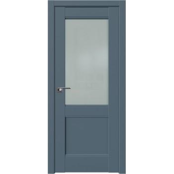 Дверь Профиль дорс 109U Антрацит - со стеклом (Товар № ZF211205)