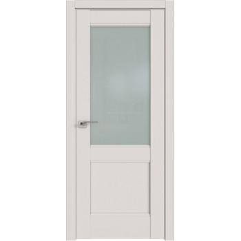 Дверь Профиль дорс 109U Дарк вайт - со стеклом (Товар № ZF211477)