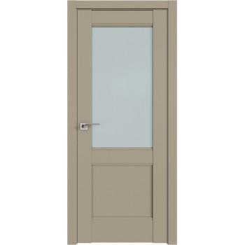 Дверь Профиль дорс 109U Шеллгрей - со стеклом (Товар № ZF211026)