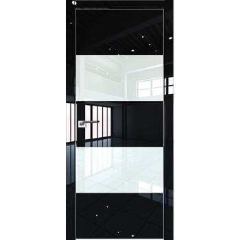 Дверь Профиль дорс 10LK Черный люкс - со стеклом (Товар № ZF210151)