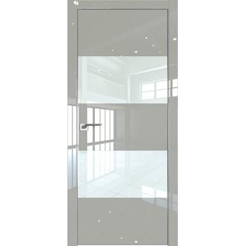 Дверь Профиль дорс 10LK Галька люкс - со стеклом (Товар № ZF210119)