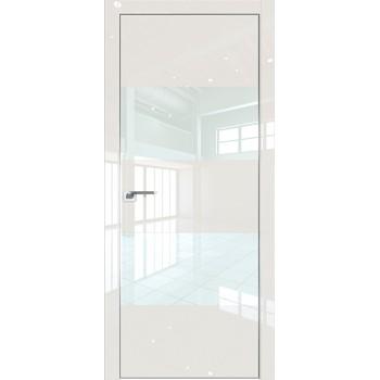 Дверь Профиль дорс 10LK Магнолия люкс - со стеклом (Товар № ZF210138)