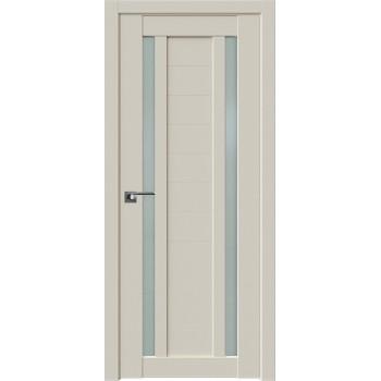 Дверь Профиль Дорс 15U Магнолия сатинат - глухая (Товар № ZF209210)