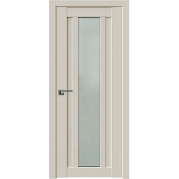Дверь Профиль Дорс 16U Магнолия сатинат - со стеклом (Товар № ZF209208)