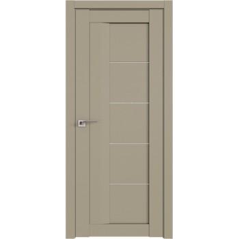 Дверь Профиль дорс 17U Шеллгрей - со стеклом (Товар № ZF209079)