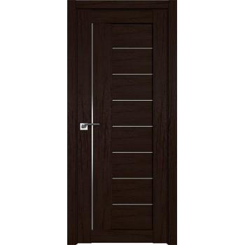 Дверь Профиль дорс 17XN Дарк браун - со стеклом (Товар № ZF211946)